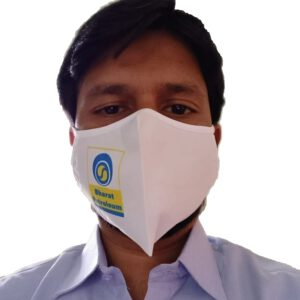 Bharat Petroleum Petrol Pump Face Mask