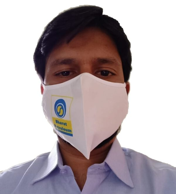 Bharat Petroleum Petrol Pump Face Mask