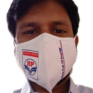 Hindustan Petroleum Petrol Pump Face Mask